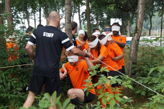 Teambuilding 1 eight-trainingen