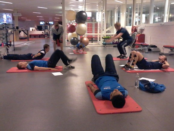 Fitness eight-trainingen